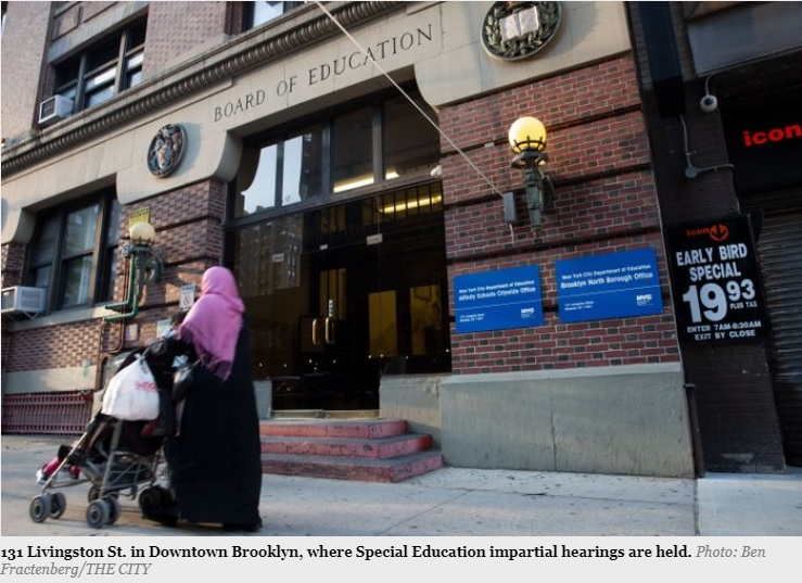 The NYC Department of Education is struggling to meet the