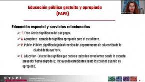 Educación Especial: ¡Conozca Sus Derechos!